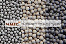 The technical properties of intermediate strength proppant, also named isp proppant are able to meet even exceed API RP The bauxite proppant, also called ceramic ball produced by Maide Ceramics