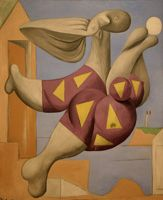 Pablo Picasso. Bather with a beach ball, 1932