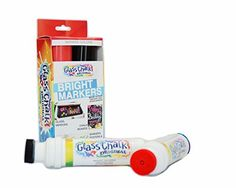 Glass Chalk Markers