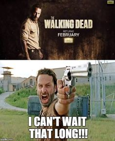 #twd WHY is there still one more month to wait :(