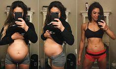 Bodybuilder reveals her struggle with extreme bloating
