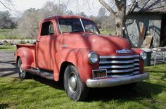 1953 Chevy Pickup Truck......one could have been ours, if the dh had chosen his stepmom's truck...instead of the 1980 Jetta...oh well, lessons learned to late..lol