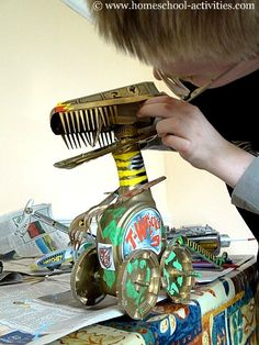 33 Trendy how to build a robot for kids stem projects Stem Projects For Kids, Stem For Kids, Fun Crafts For Kids, Art For Kids, Science Projects, Science Experiments, School Projects, Science Fiction, Stem Activities