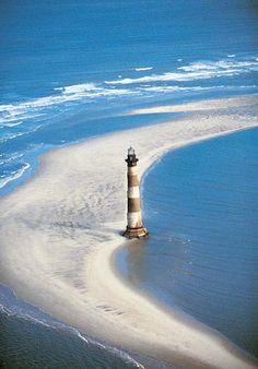 Folly Beach lighthouse, Charleston, SC