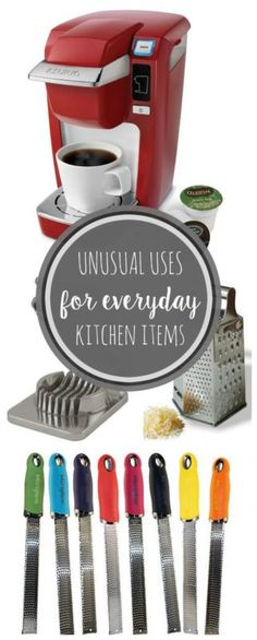 Unusual uses for everyday items!!!