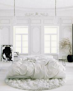 white bedroom heaven!