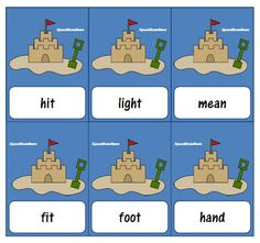 Free!! Sandcastle multiple meanings game thanks to speechroomnews!