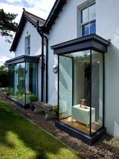 Architecture: Modern Homes With Sash Windows House Extension Design, Glass Extension, Contemporary Architecture, Contemporary Interior, Contemporary Windows, Contemporary Chandelier, Contemporary Building, Wood Architecture, Contemporary Cottage