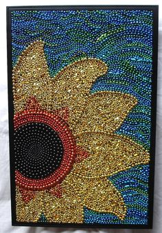 Custom order reserved for Pam  framed Mardi Gras by BayoulandBeads, $75.00