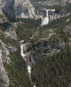 Nevada & Vernal Falls Off Panorama Trail