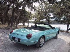 2005 Ford Thunderbird Convertible in thunderbird blue