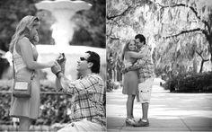 Engagement in Forsyth Park, Savannah Ga!  dalyandsalterphoto.com