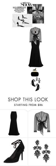 """Untitled #540"" by paperdollsq ❤ liked on Polyvore featuring Roland Mouret, Bianca Elgar, Alexander McQueen, Joie, SANCHEZ, Fallon and SOPHIE MILLER"