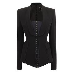 Alexander McQueen TAILORED HOOK AND EYE JACKET PRE-AUTUM/WINTER $1,630.00