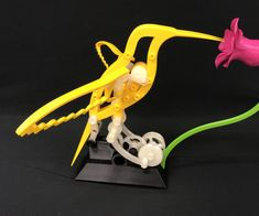 Hummingbird is a hummingbird themed automata I designed for my wife, who smiles from ear to ear while feeding and watching the gathering hummingbirds at our home. ...