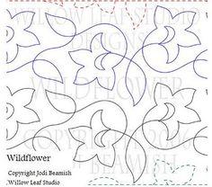 www.myquilter.blogspot.com: IQ patterns- floral