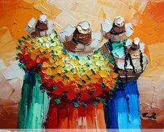 pinturas de cholitas peruanas - Buscar con Google