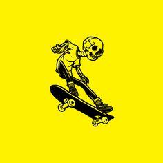 he was a skater boy Art Patin, Skate Art, Art Et Illustration, Skateboard Art, Cartoon Art, Art Inspo, Art Drawings, Street Art, Abstract Art