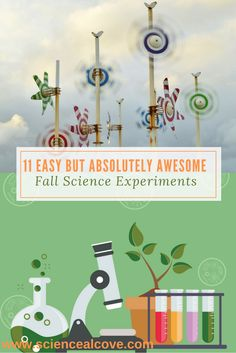 11 Easy but Absolutely Awesome Fall Science Experiments Science Activities for kids in preschool, and middle school. Great for homeschool parents and teachers who want to inspire a love for science in the new school year. High School Science Experiments, Kindergarten Science Activities, Primary Science, Science Projects For Kids, Science Ideas, Stem Activities, Science Today, Kid Science, Forensic Science