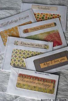 Transparent Envelope Pockets