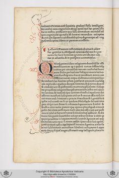 Inc.I.33: Inc.I.33 Lactantius Firmianus, Lucius Caecilius, c. 245-c. 323: Opere (12 febbraio 1474)