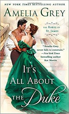 With Love for Books: It's All About the Duke by Amelia Grey - Book Review & Giveaway