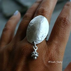 Hey, I found this really awesome Etsy listing at https://www.etsy.com/listing/248908421/duaci-silver-tribal-ring-gypsy-ring