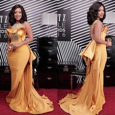 Plus Size Prom Dresses 2018 Elegant Mermaid African Scoop Neck Crystal Beaded Satin Celebrity Dresses Women Dusty Yellow Evening Gowns Cheap Yellow Evening Gown, Evening Party Gowns, Black Evening Dresses, Cheap Evening Dresses, Mermaid Evening Dresses, African Evening Dresses, Prom Dresses Under 100, Prom Dresses Uk, Princess Prom Dresses