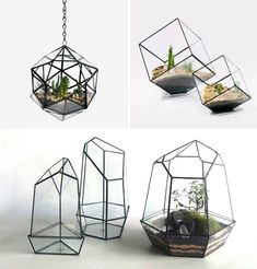 Glassworker Matthew Cleland of Score + Solder creates stunning geometric terrariums, planters, lamps and more, handmade to order from his 13-acre farm in British Columbia