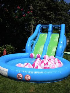 I need one of these for the splash party!!!                                                                                                                                                                                 More