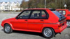 Beauvais (60) . Rendez-vous mensuel de véhicules anciens . Citroën Visa GTI