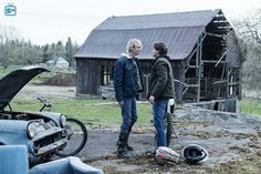 Lukas Waldenbeck and Philip Shea in Eyewitness