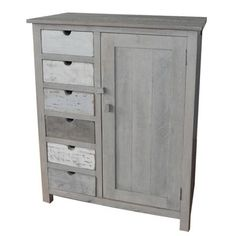 Sark Cabinet with 6 Drawers by Swedish company Sphere Inter
