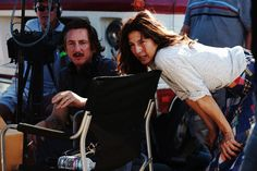 On the set: Into the Wild.