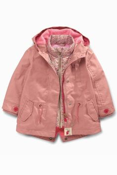 Pink 3 In 1 Tech Jacket (3mths-6yrs)