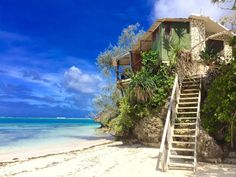 Image result for beach house Beach Shack, Tonga, Countries Of The World, Outdoor Furniture, Outdoor Decor, Beach House, Cabin, Country, House Styles