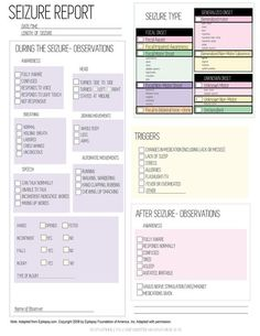 Seizure Tracking Kit Seizure Diary Medical Printables | Etsy Epilepsy Diet, Epilepsy Seizure, Epilepsy Awareness, Epilepsy Facts, 21 Day Fix, Seizures Non Epileptic, Nervous System Problems, Temporal Lobe Epilepsy, Health