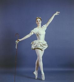 "New York City Ballet - studio portrait of Suzanne Farrell in ""Don Quixote"", choreography by George Balanchine (New York)"