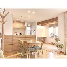 Japanese Home Design, Japanese Style House, Japanese Interior, Bedroom Minimalist, Minimalist Kitchen, Home Room Design, House Design, Muji Home, Muji Style
