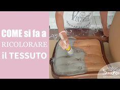 Colorare il tessuto con la Vintage chalk Paint - YouTube