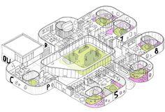proposal for a nursery in Son Dameto D'Alt, Palma de Mallorca.
