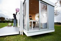 If It's Hip, It's Here: Amazing Outdoor Playhouses For Kids Inspired By Modern Architecture.