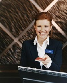Meet people from around the world and work in a busy customer facing environment. These are just some of the perks of working as a hotel receptionist. Disappearing Acts, My Dream, Dream Job, Mood Images, Kayak, Travel And Tourism, Front Desk, Photo Sessions, Flirting