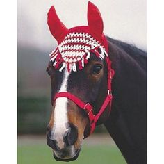 Roma Cotton Fly Bonnet Horse Tack | Equine Superstore