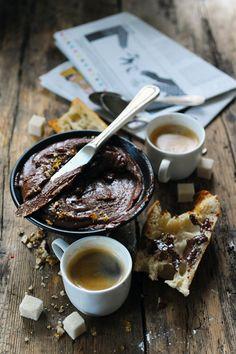... chocolate pecan nut spread ...