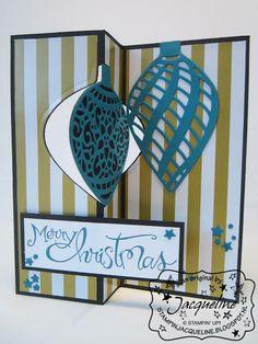 Stampin' Up! by Stampin Jacqueline: Embellished Ornaments en Delicate Ornament Thinlits Dies, deel 4