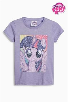 Buy Lilac My Little Pony Short Sleeve T-Shirt (3-16yrs) from the Next UK online shop