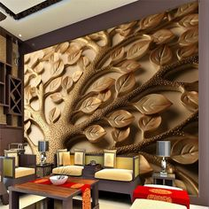 Beibehang Custom 3 d Mural wallpaper personalized relief living room bedroom TV modern home decoration photo wallpaper