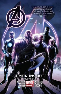 Preamble It is eight months in the future. And the world has changed drastically in Jonathan Hickman's Avengers: Time Runs Out Volume One. Our world has been at risk as the global incursions of other Earth's in the multiverse collide with ours. And the steps taken to save the Marvel 616 Earth has created a …