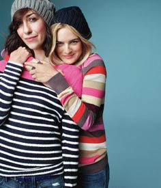 Best friend Love - director Gia Coppola & actress Nathalie Love. Holiday 2012.